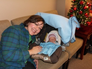 Our volunteer Ginevra Ott was blessed to meet little baby Silas who is just 4 days old today and welcome him to the world!