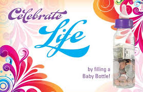 baby bottle choose life image