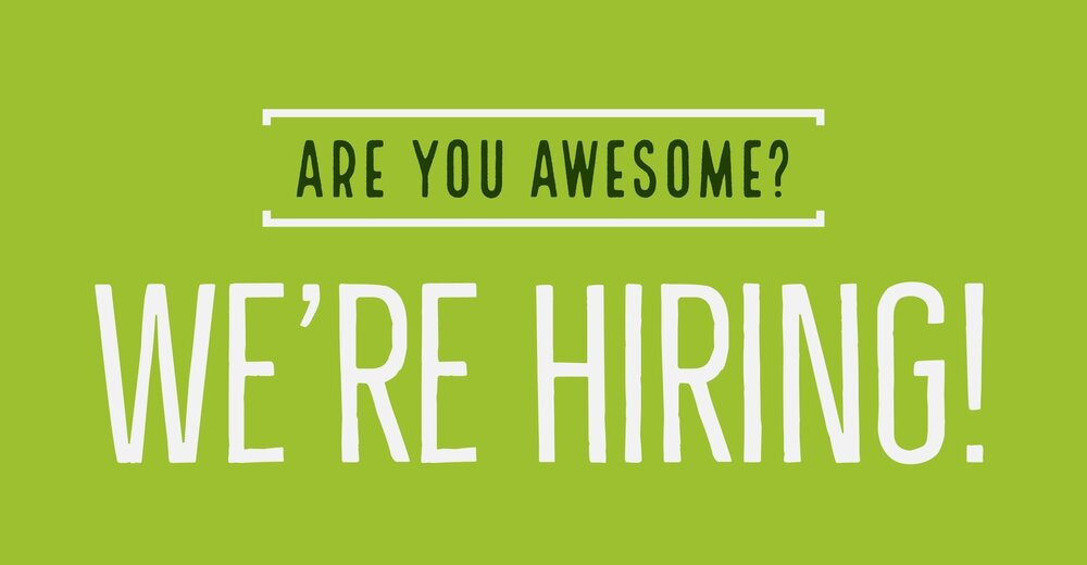We're hiring awsome